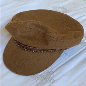 coffee brown ashland fiddle fisherman hat cap